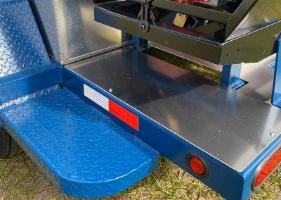 Curbing Trailer Step Plate